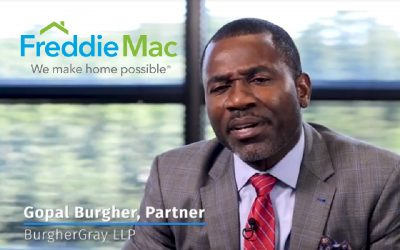 Gopal Burgher Interviewed in Freddie Mac Video Speaking about the Freddie Mac Vendor Academy