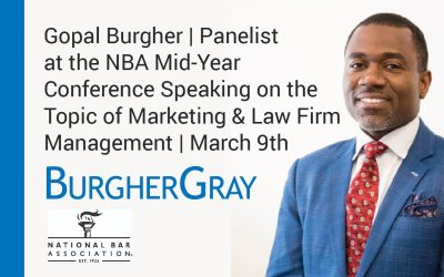Gopal Burgher Panelist at the NBA Mid-Year Conference Speaking on Law Firm Management
