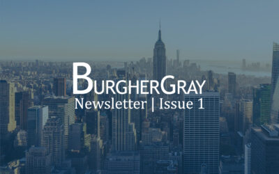 Issue 1 of the BurgherGray Newsletter